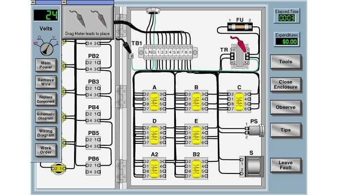 Programas para simular circuitos eléctricos
