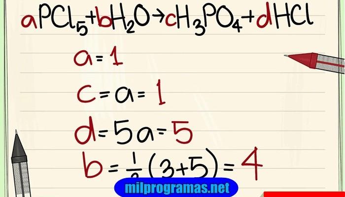 Los 4 Mejores Programas Para Balancear Ecuaciones Químicas