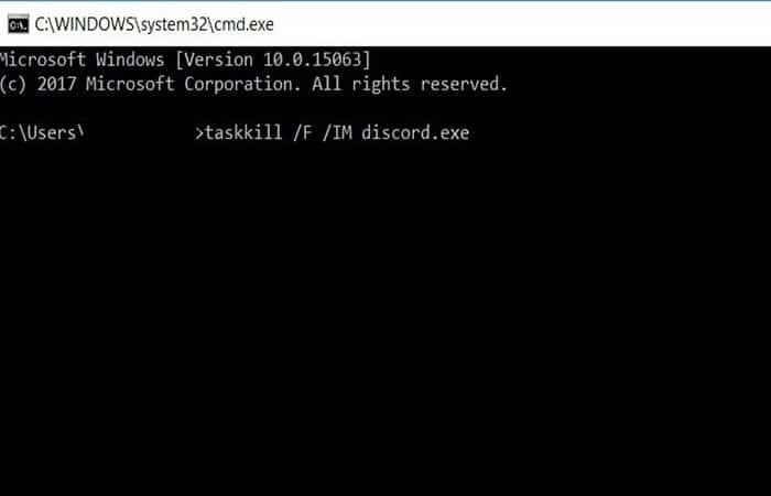 Otro método para procesar Taskkill