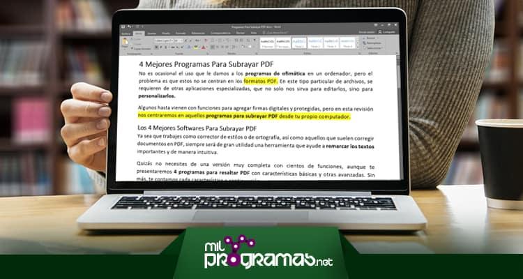 programas para subrayar pdf