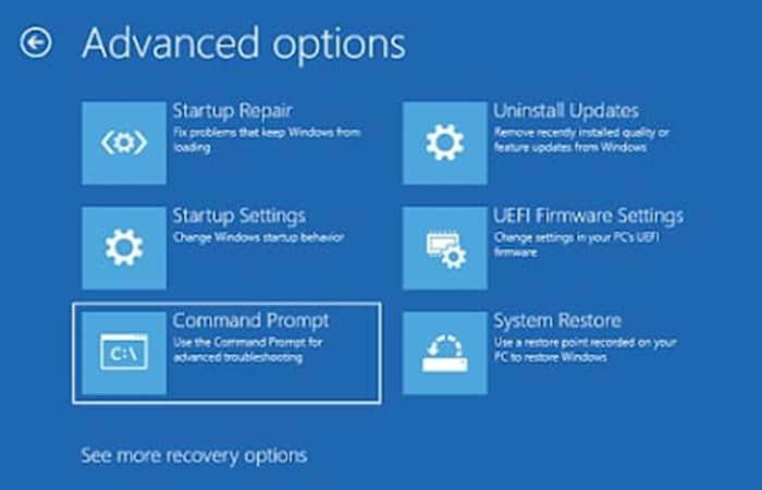 Errores de Windows 10