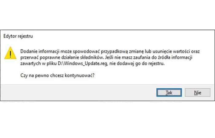 corrige el error 0x80080005 en Windows Update recreando la estructura de entrada del servicio en el registro