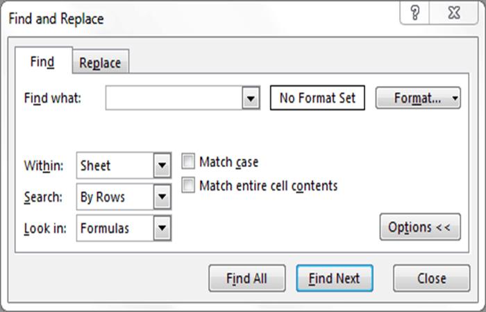 Fórmula para encontrar la función VBA en Excel