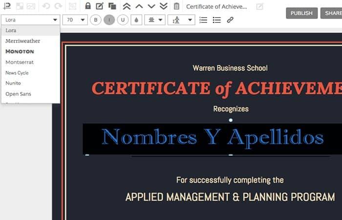Programas para hacer certificados