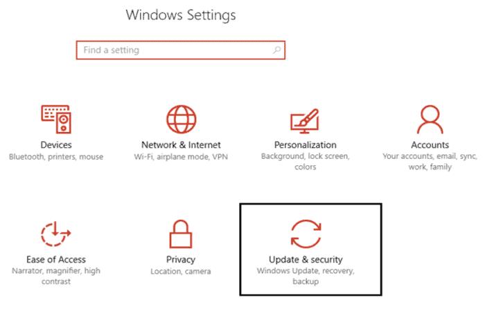 Actualiza el sistema operativo Windows