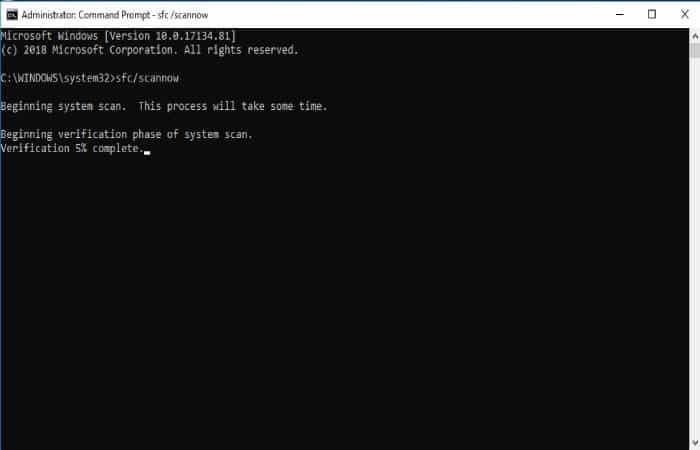 Error de actualización de Windows 0x80080008
