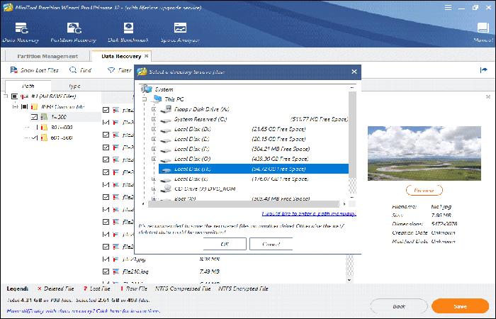 Recuperar datos de la PC con el error 1962