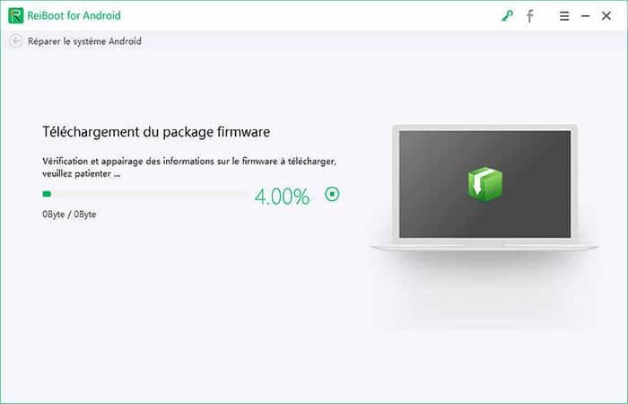 paquete de firmware