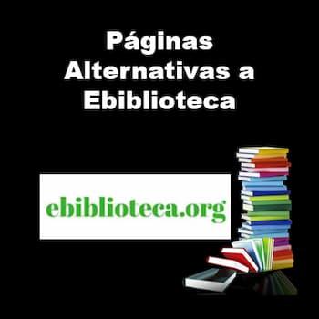 Alternativas a Ebiblioteca