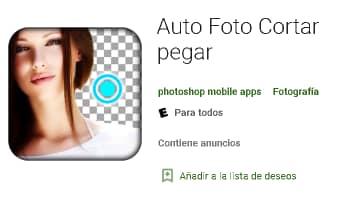 Auto Foto Cortar pegar