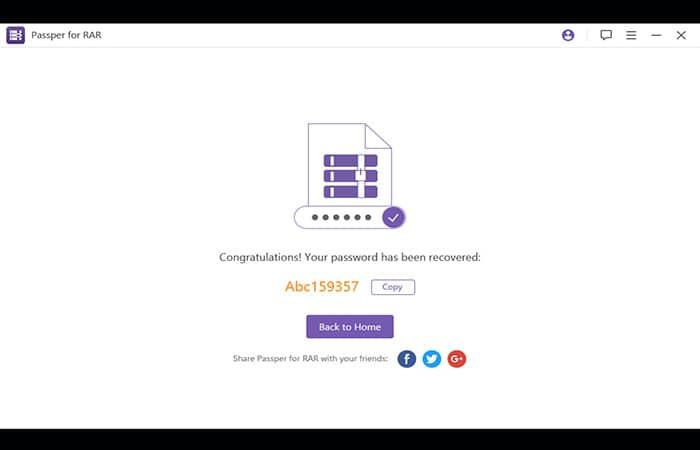 Abrir un archivo RAR protegido