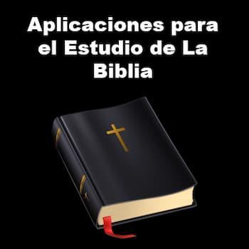 aplicaciones para el estudio de la biblia