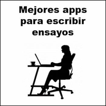 apps para escribir ensayos